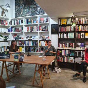Encuentro con Eva Baltasar y Eider Rodríguez. Programa Afinidades Electivas. Ministerio de Cultura.