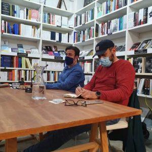Encuentro con Rafa Lahuerta. Autor de «Noruega» Premi Lletraferit de Novel·la 2020