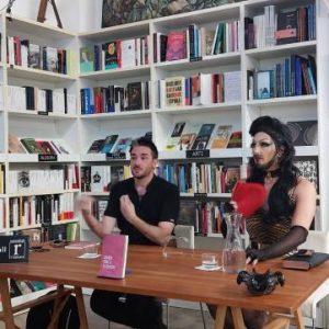 Fantástica tarde con Víctor Mora y Pam Demia.  Presentan ¿Quién teme a lo queer?