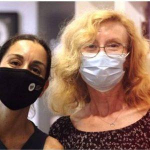 Almudena y Eve, Avivament team
