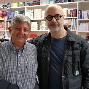 Rodrigo Fresan y Miguel Sanfeliu