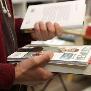 Llibreria Ramon Llull. Fotografía Ana Avellana.